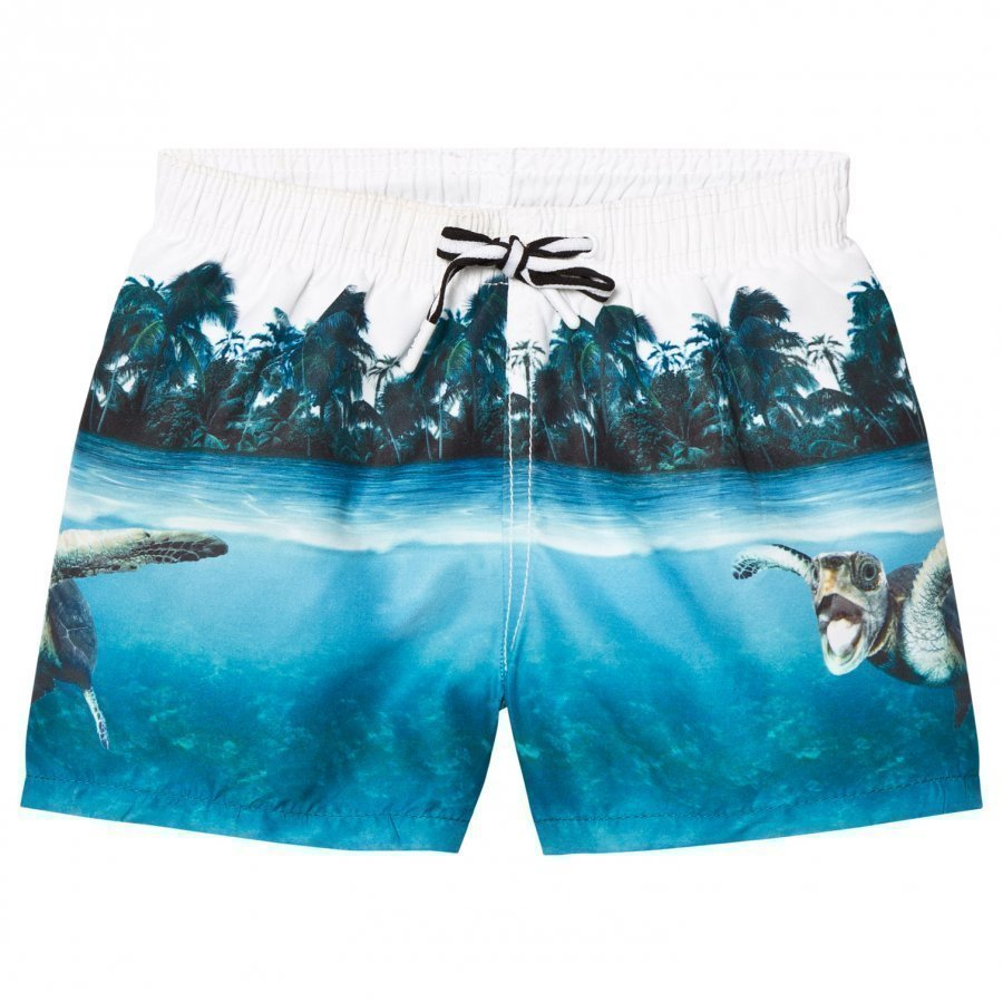 Molo Niko Swimming Shorts Singing Turtle Uimashortsit