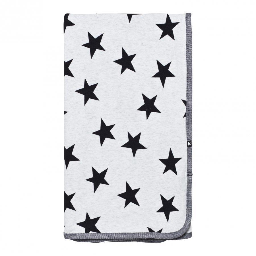 Molo Niles Blanket Black Star Print Huopa