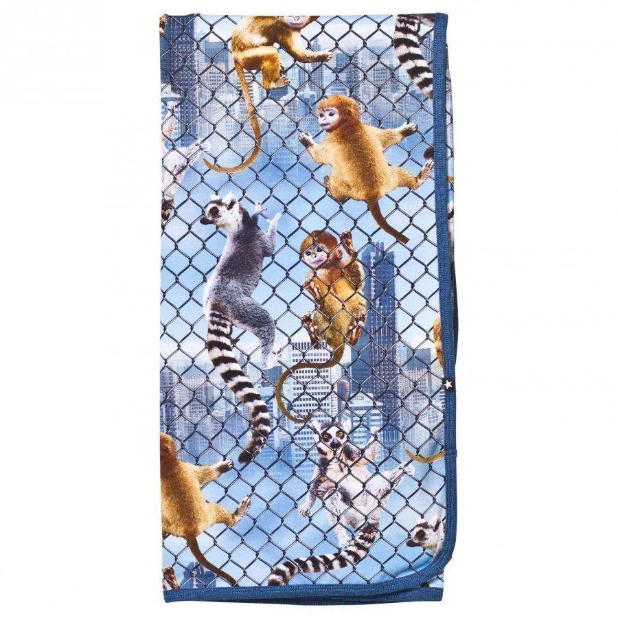 Molo Niles Blanket Climbing Monkeys Huopa