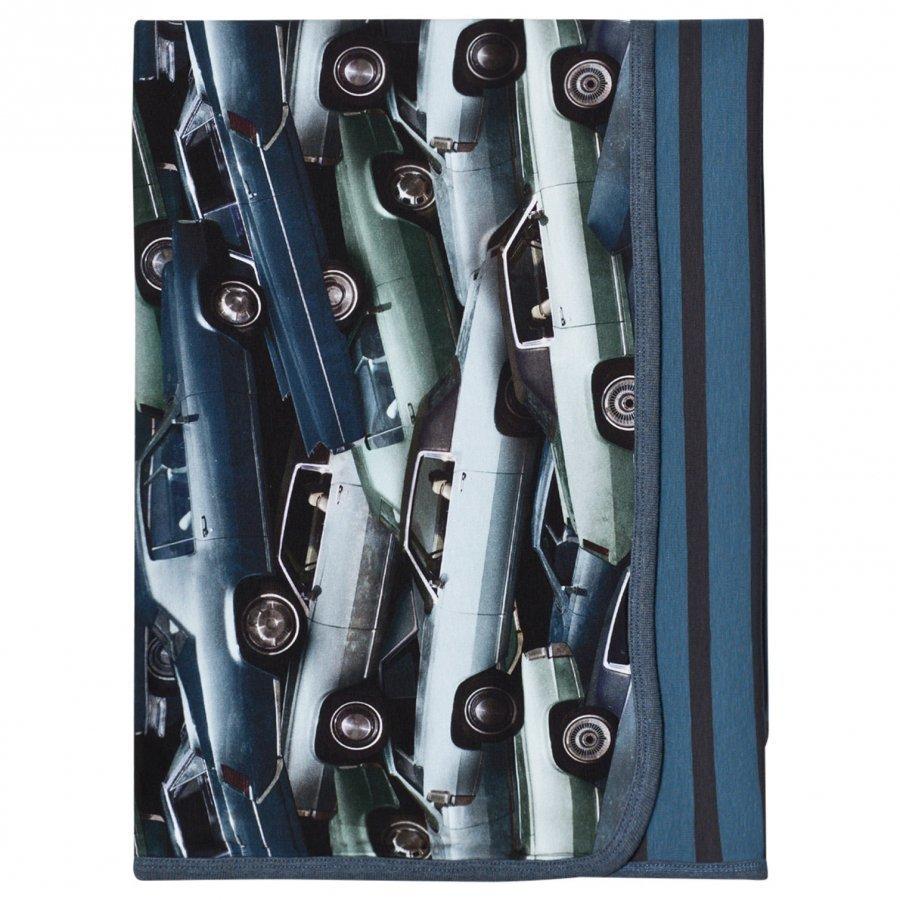 Molo Niles Blanket Stacked Cars Huopa
