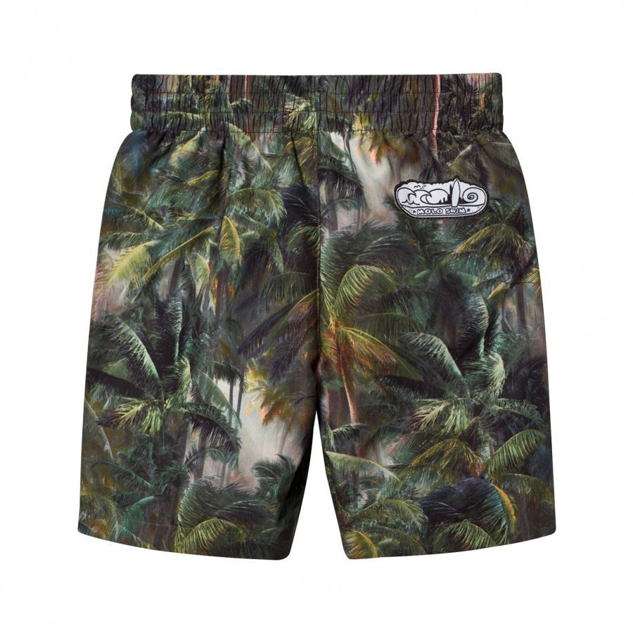 Molo North Boardies Swimming Shorts Camo Palms Uimashortsit