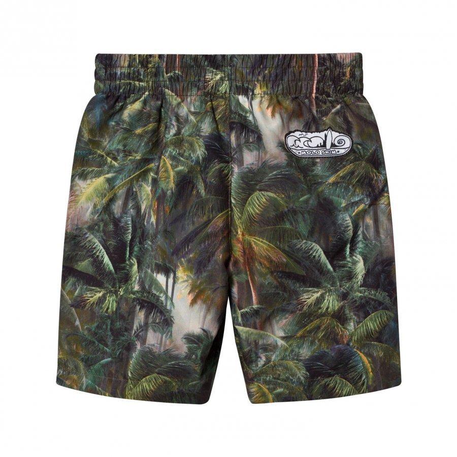 Molo North Boardies Swimming Shorts Camo Palms Uimashortsit
