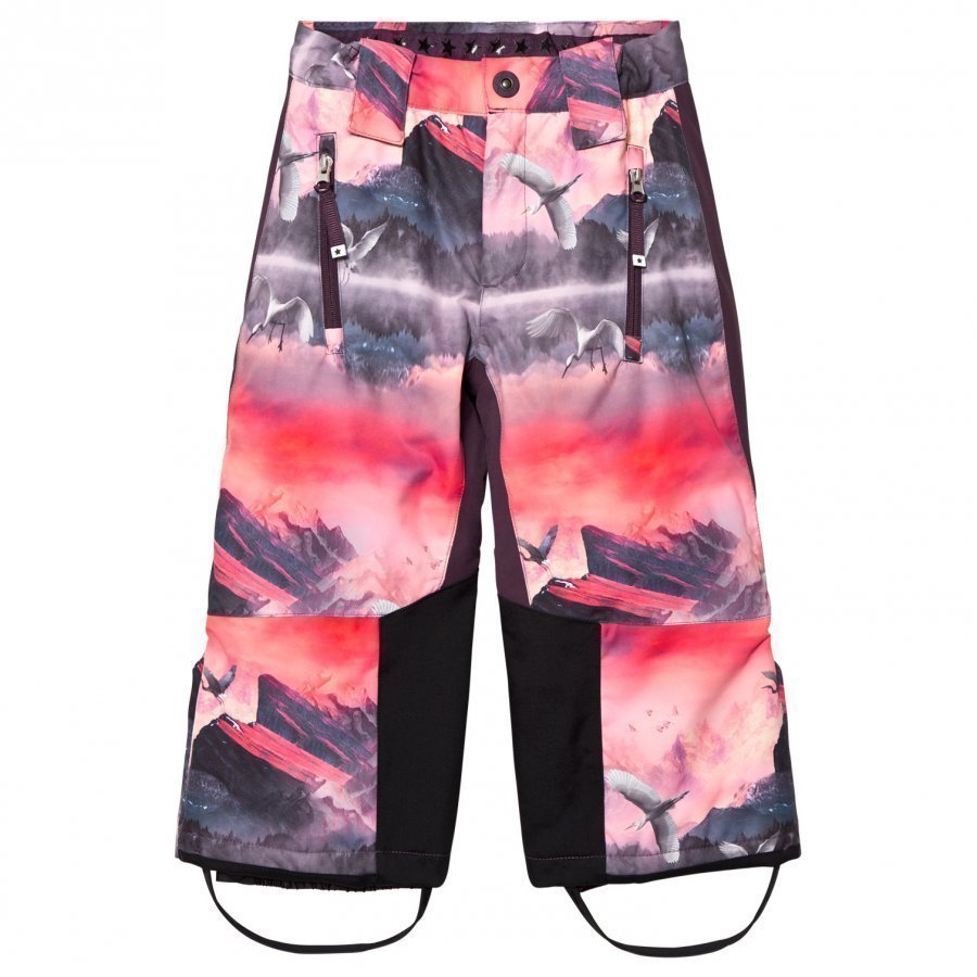 Molo Pink Mountains Jump Pro Ski Trousers Toppahousut