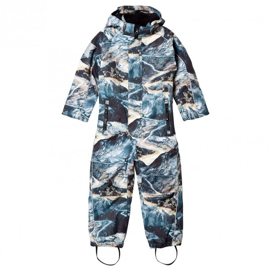 Molo Polar Snowsuit Mountain Range Toppahaalari