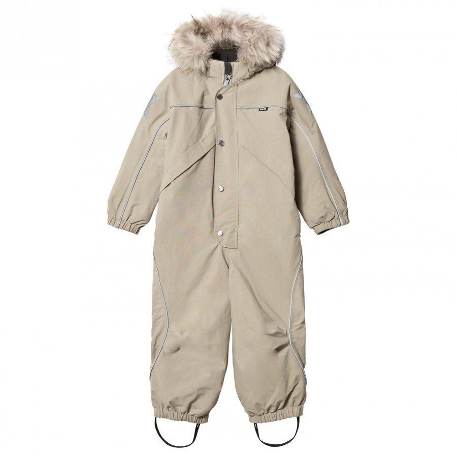 Molo Polaris Faux Fur Snowsuit Aluminium Toppahaalari