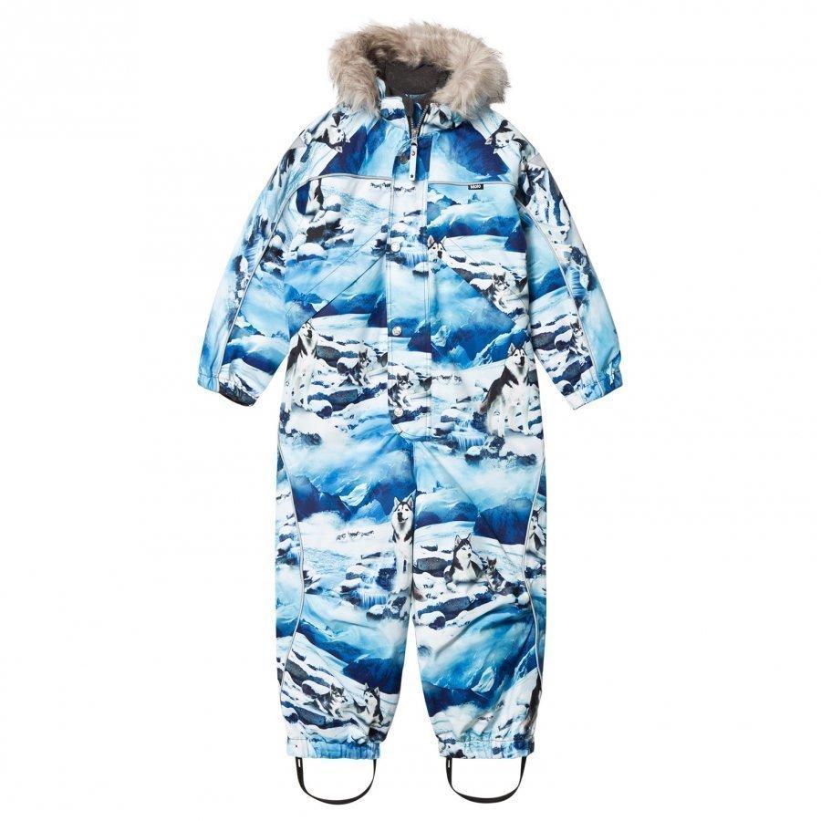 Molo Polaris Faux Fur Snowsuit Husky Toppahaalari