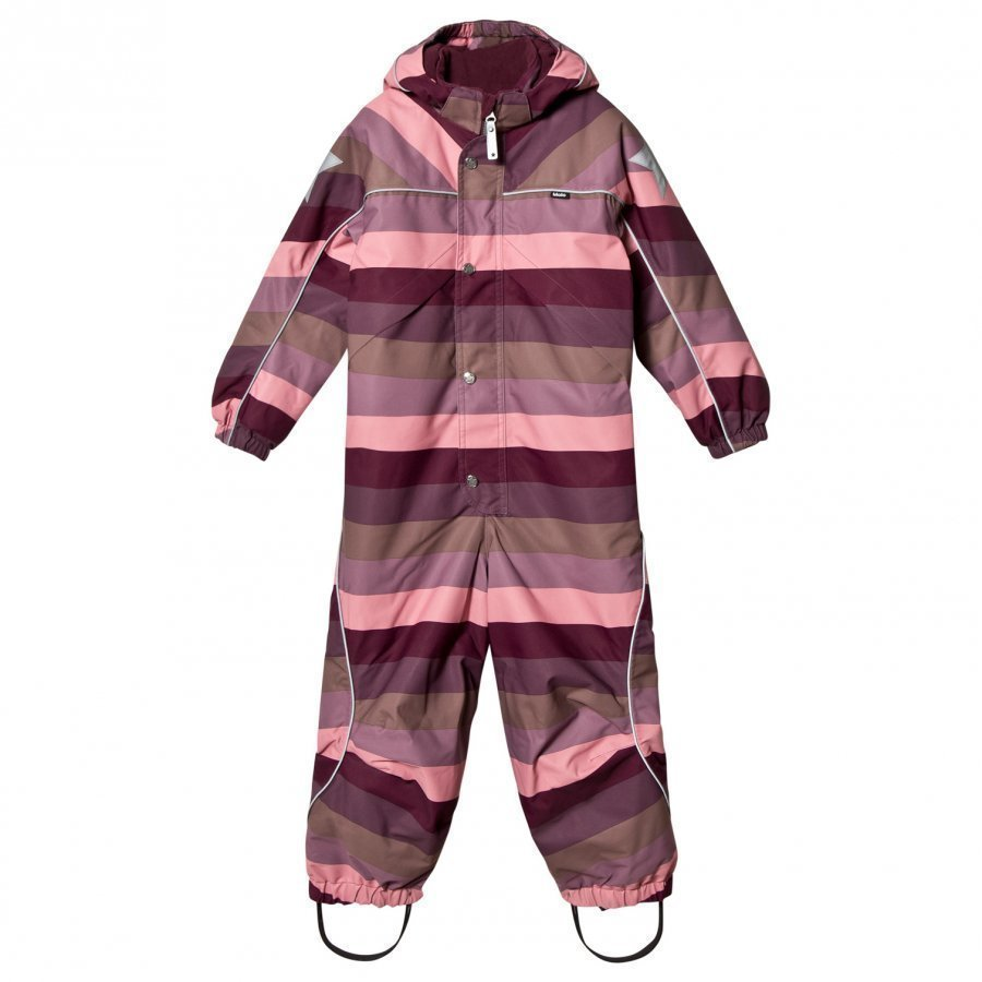 Molo Polaris Snowsuit Huckleberry Stripe Toppahaalari