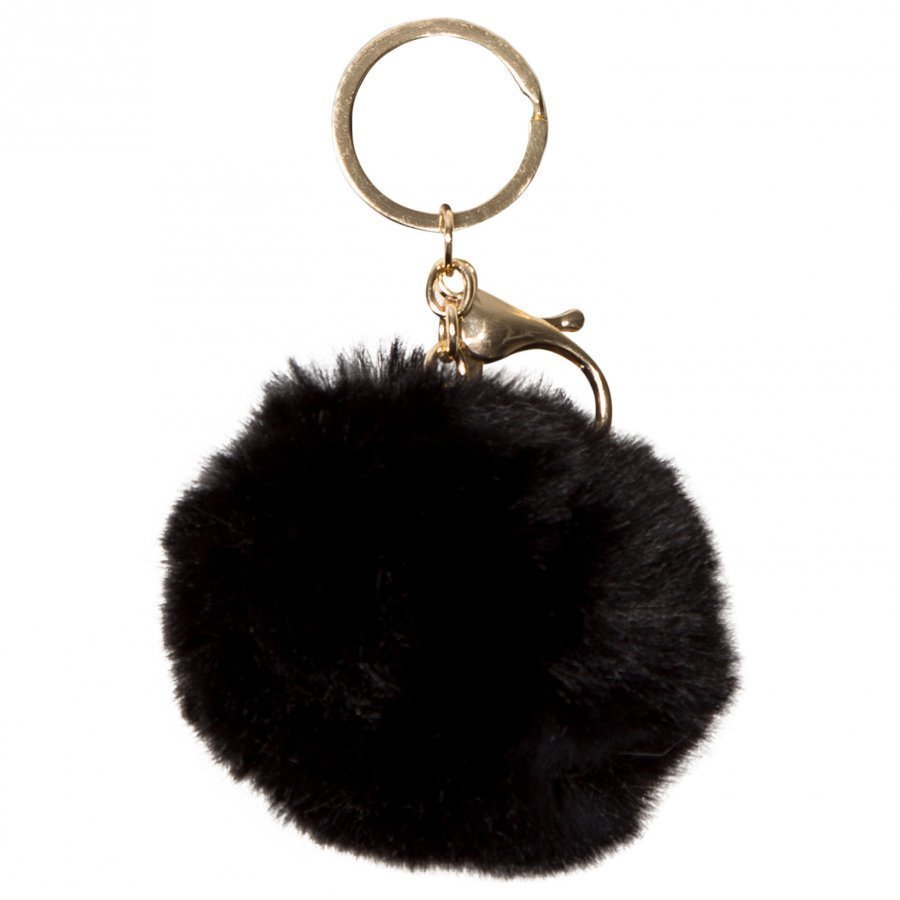 Molo Pom Pom Keychain Black Avaimenperä