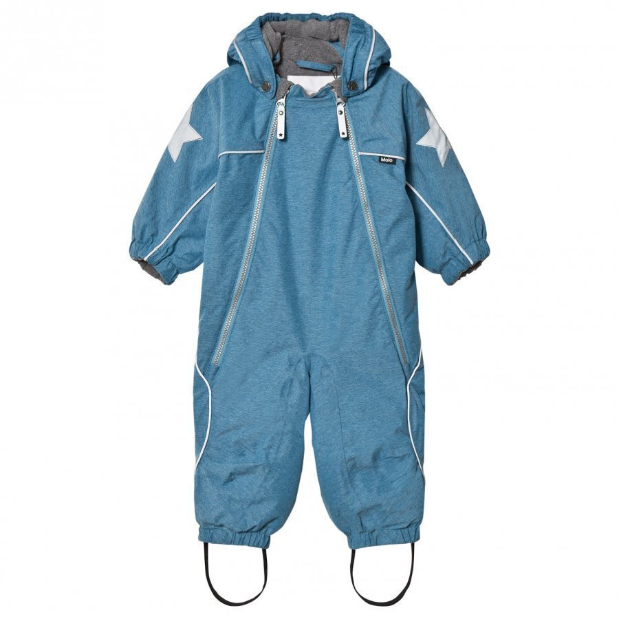 Molo Pyxis Baby Snowsuit Blue Mountain Toppahaalari