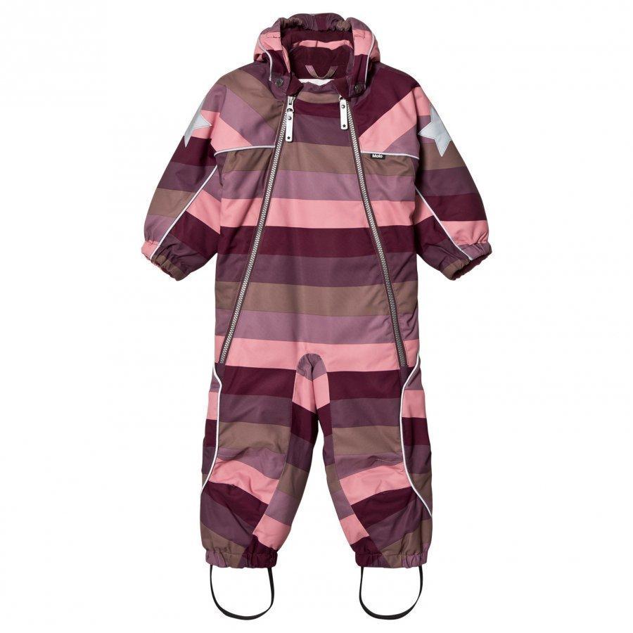 Molo Pyxis Baby Snowsuit Huckleberry Stripe Toppahaalari