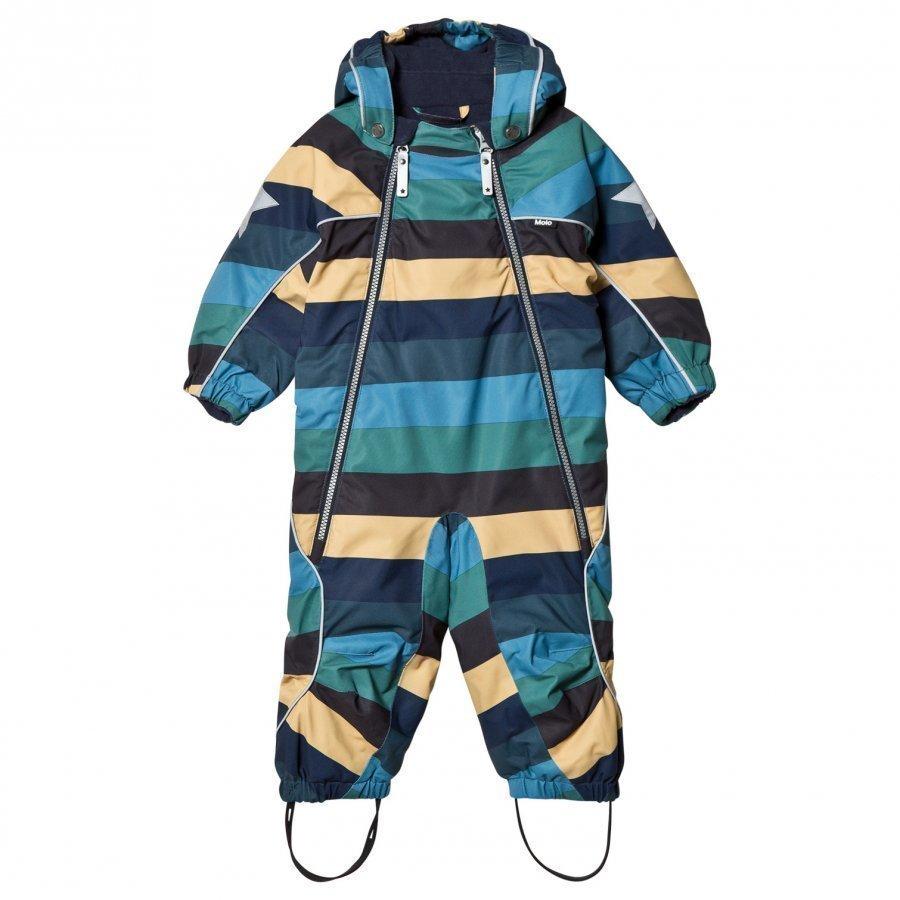 Molo Pyxis Baby Snowsuit Ocean Stripe Toppahaalari