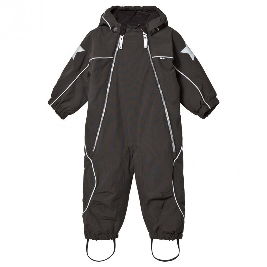 Molo Pyxis Baby Snowsuit Pirate Black Toppahaalari