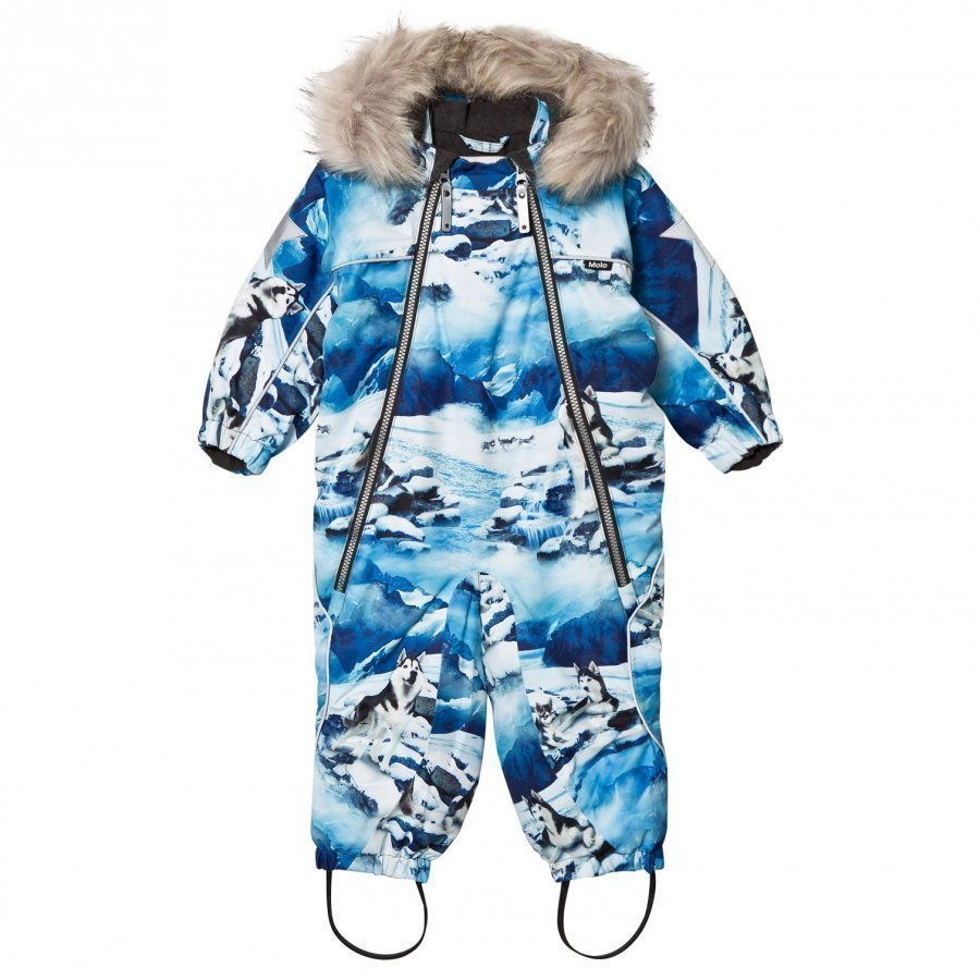 Molo Pyxis Faux Fur Snowsuit Husky Toppahaalari