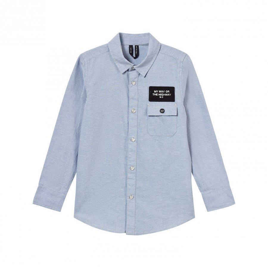 Molo Radcliff Shirt Chambrey Blue Kauluspaita