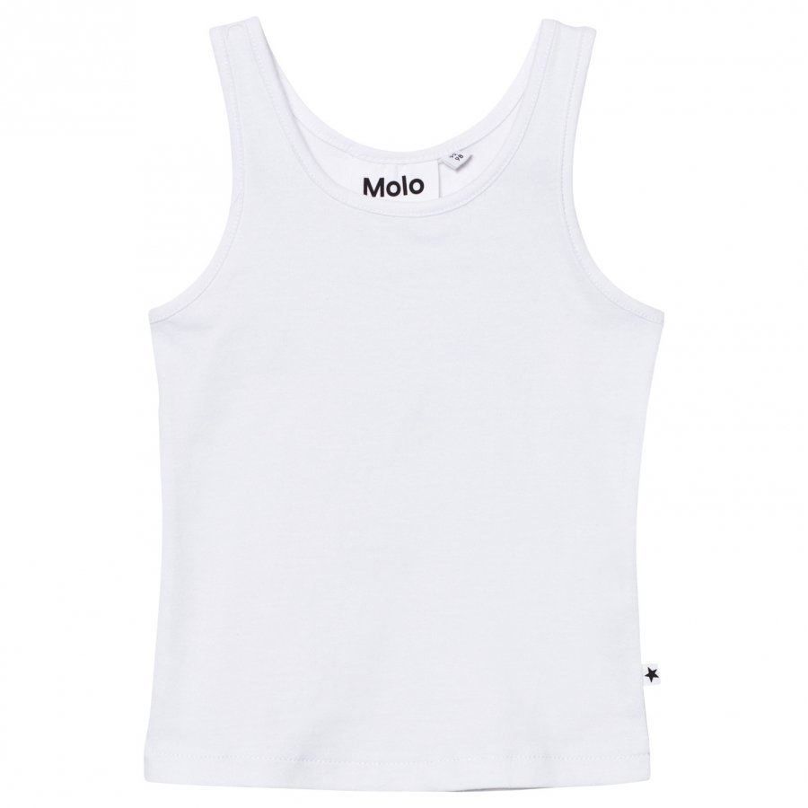 Molo Rany Tank Top Bright White Liivi