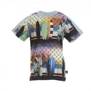 Molo Rishi Urheilullinen T-paita Musta / Värikäs