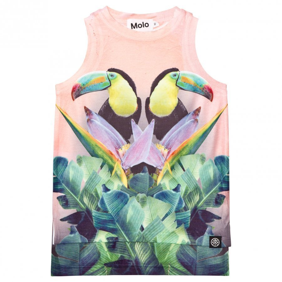 Molo Ro Tank Top Mirror Toucans Liivi