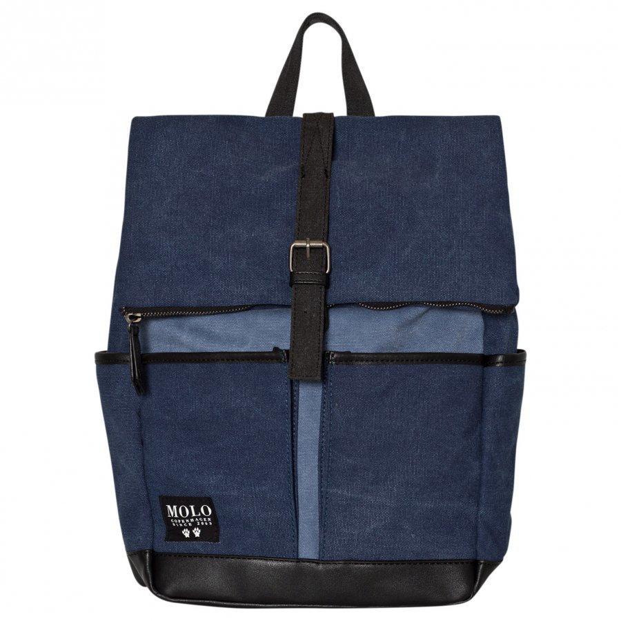 Molo Roll Top Bag Deep Blue Reppu