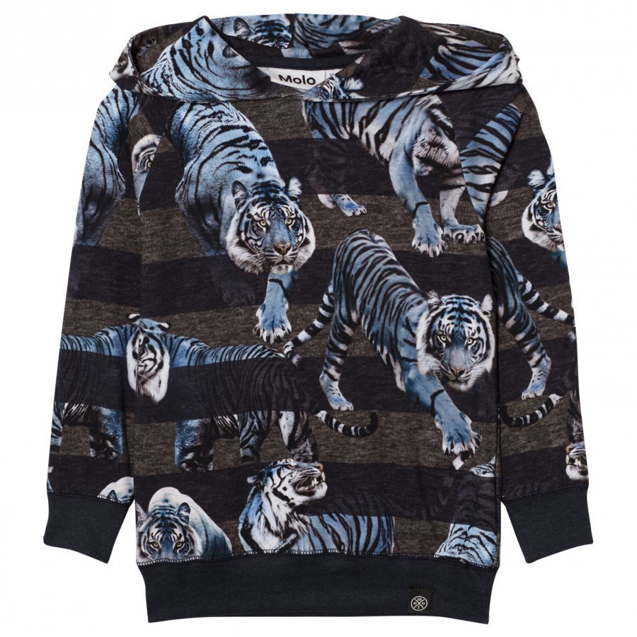 Molo Russel Hoodie Blue Tigers Huppari