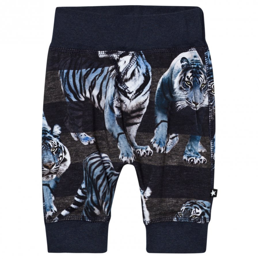 Molo Sammy Soft Pants Blue Tigers Verryttelyhousut