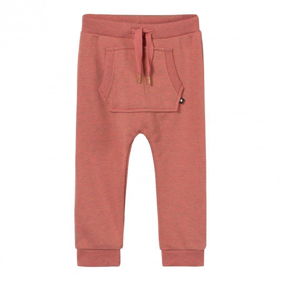 Molo Sandie Soft Pants Spicy Pink Melange Verryttelyhousut