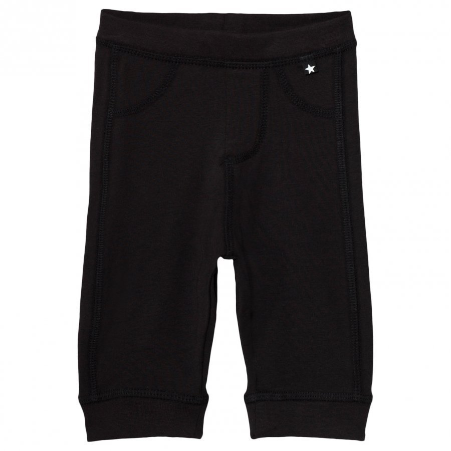 Molo Scott Soft Pants Black Verryttelyhousut