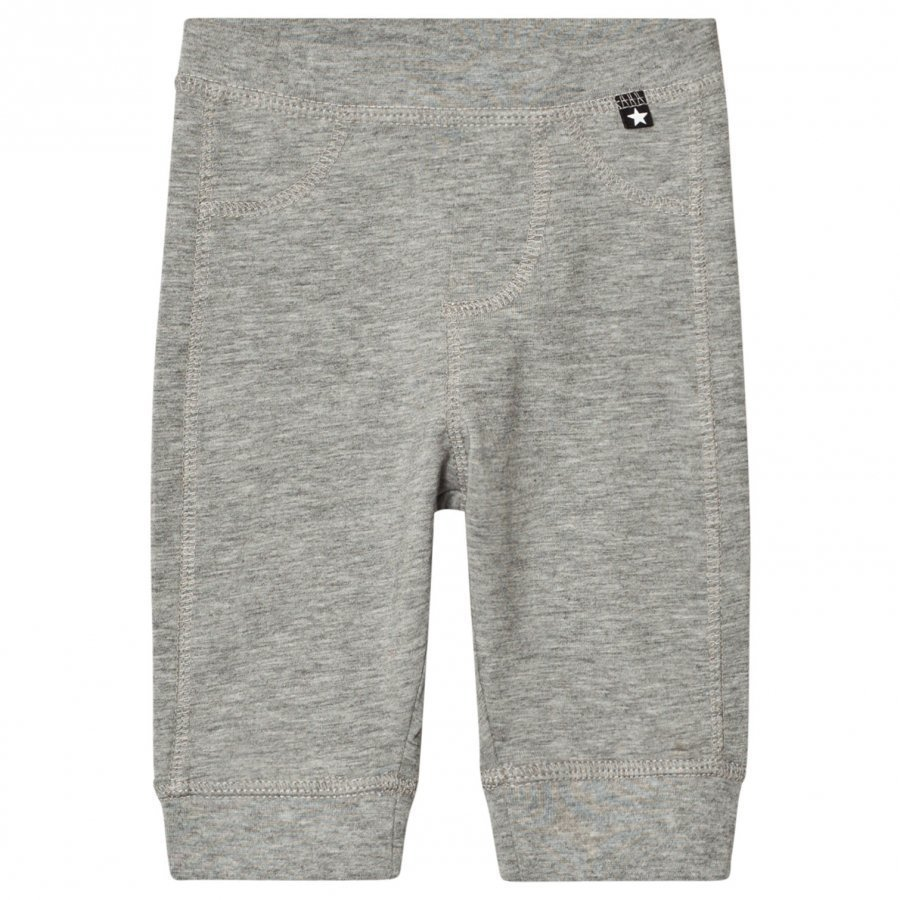 Molo Scott Soft Pants Grey Melange Verryttelyhousut