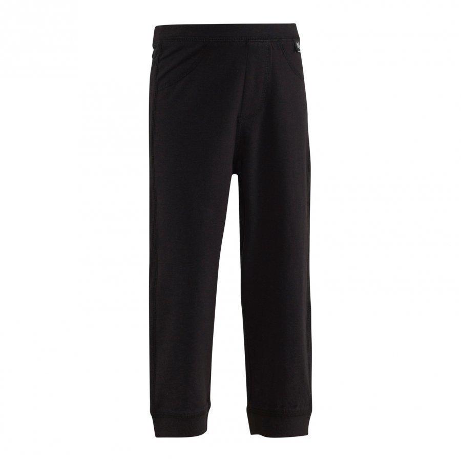 Molo Scott Soft Pants Housut Mustat Verryttelyhousut