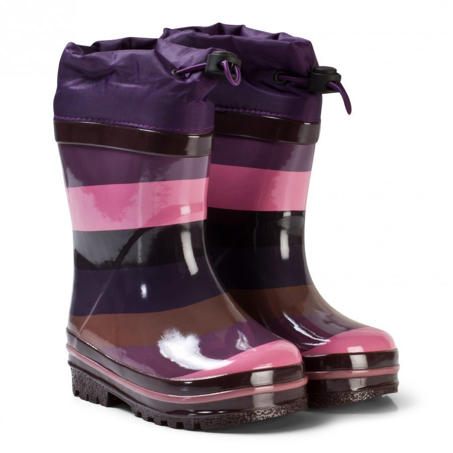 Molo Sejer Rubber Boots Huckleberry Stripe Kumisaappaat