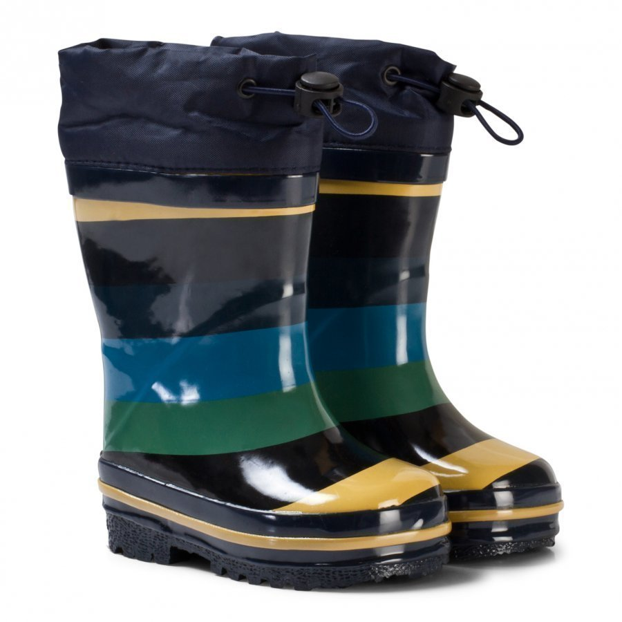 Molo Sejer Rubber Boots Ocean Stripe Kumisaappaat
