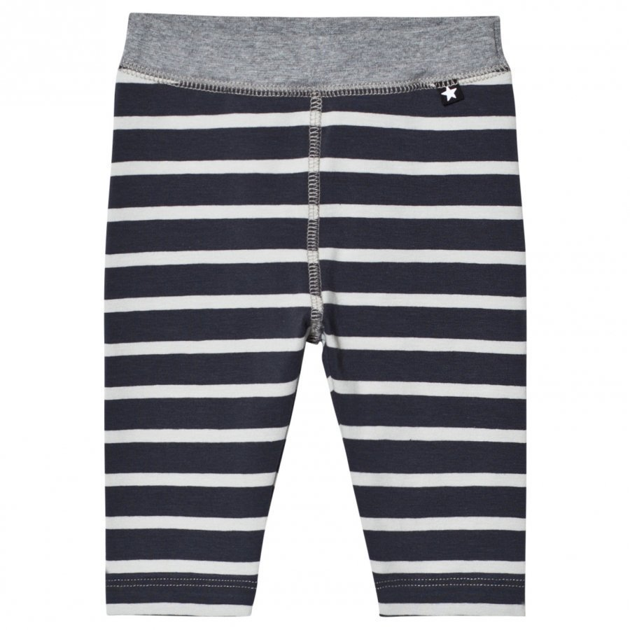 Molo Soul Soft Pants N.Y. Blue Stripe Verryttelyhousut