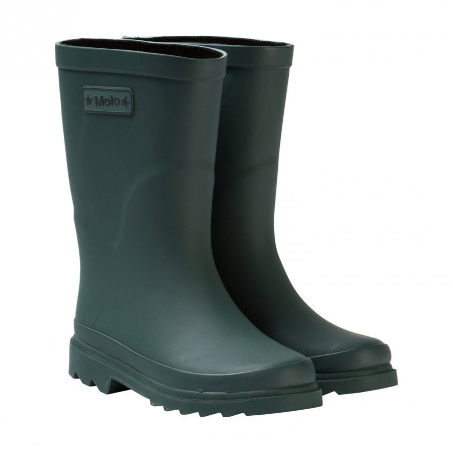 Molo Strong Wellies Metal Green Kumisaappaat