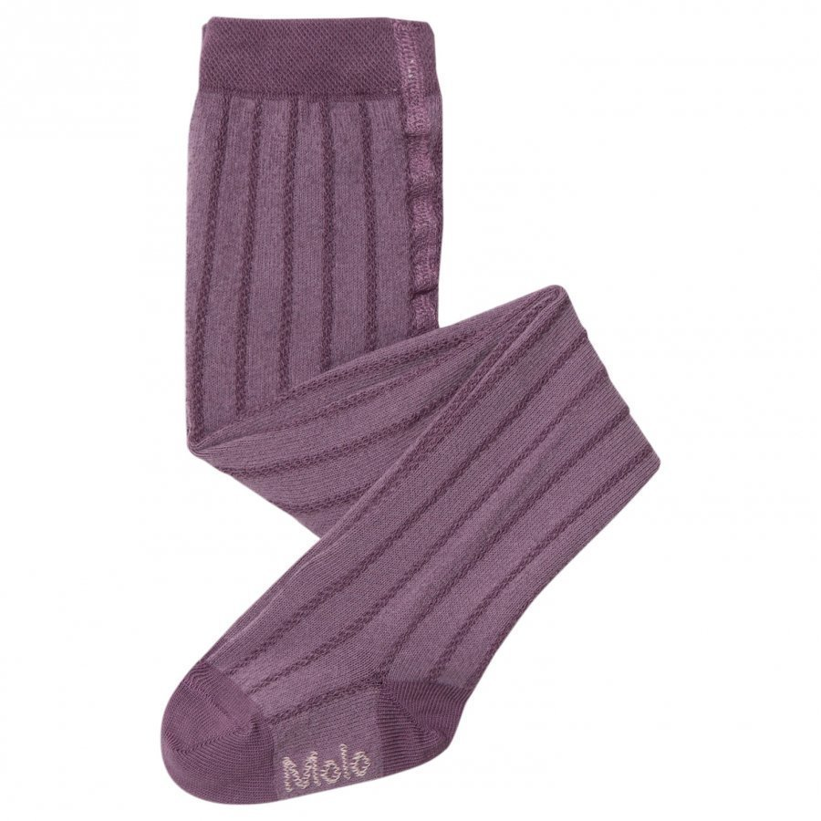 Molo Structured Tights Purple Mist Sukkahousut