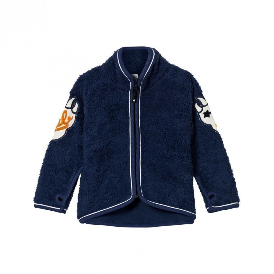 Molo Ulan Fleece Jacket Navy Blue Fleece Takki