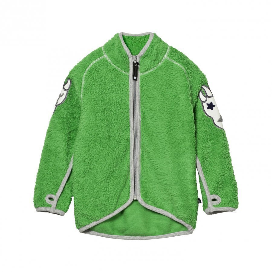 Molo Ulan Fleece Jacket Online Green Fleece Takki