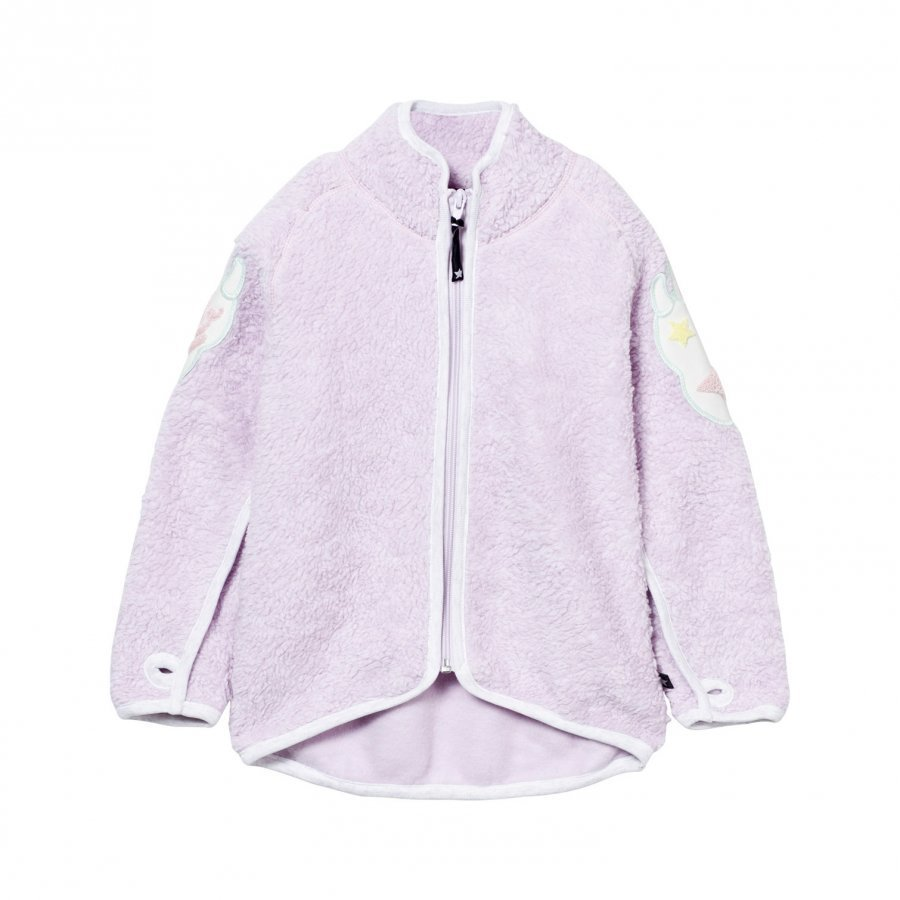 Molo Ulan Fleece Jacket Pale Amethyst Fleece Takki