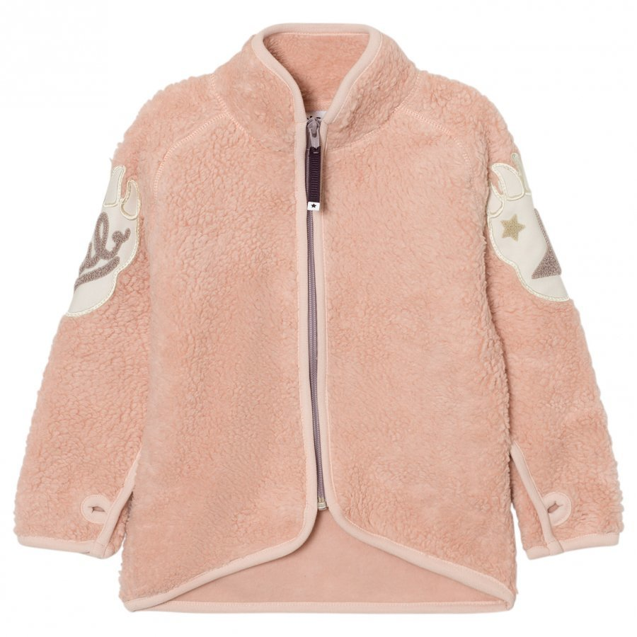 Molo Ulan Fleece Jacket Peach Whip Fleece Takki