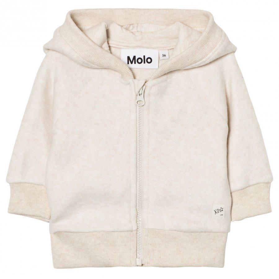 Molo Ummi Jacket Oatmeal Melange Fleece Takki