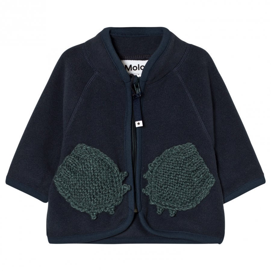 Molo Umo Fleece Jacket Midnight Navy Fleece Takki