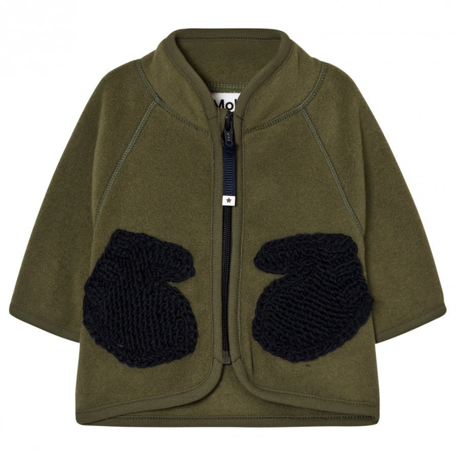 Molo Umo Fleece Jacket Tarmac Fleece Takki