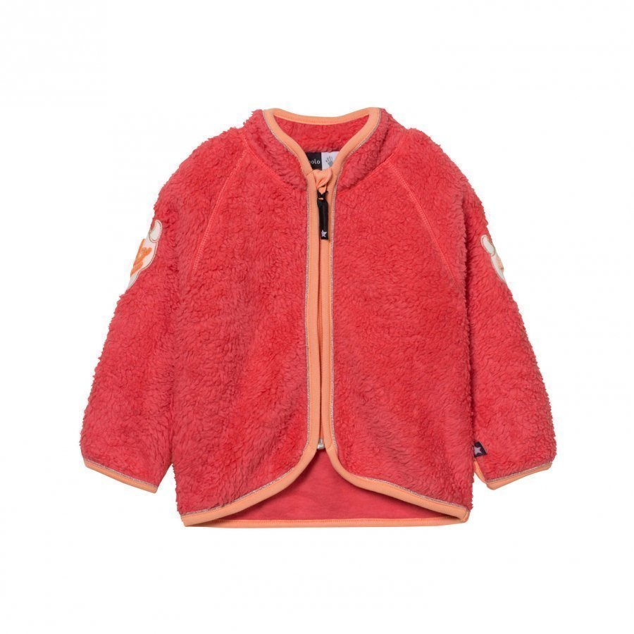 Molo Urvan Fleece Jacket Calypso Fleece Takki