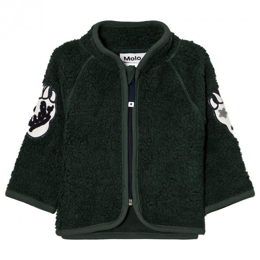 Molo Urvan Fleece Jacket Pine Grove Fleece Takki