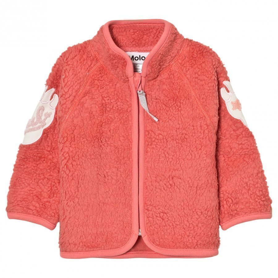 Molo Urvan Fleece Jacket Sunrise Fleece Takki