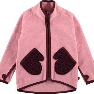 Molo Ushi Fleece Fleecetakki Pinkki