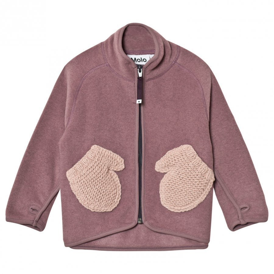 Molo Ushi Fleece Jacket Purple Mist Fleece Takki
