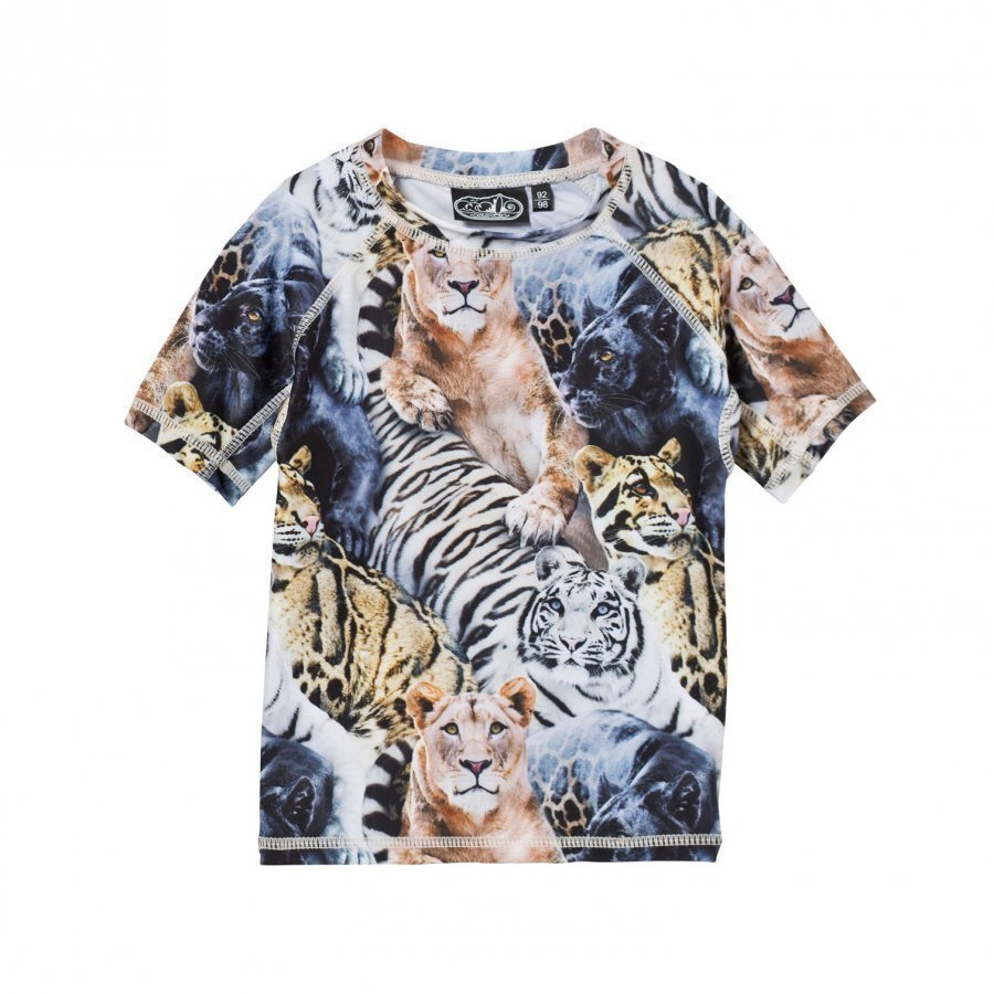 Molo Uv-Top Swim Neptune Top Wild Cats Uv-Paita