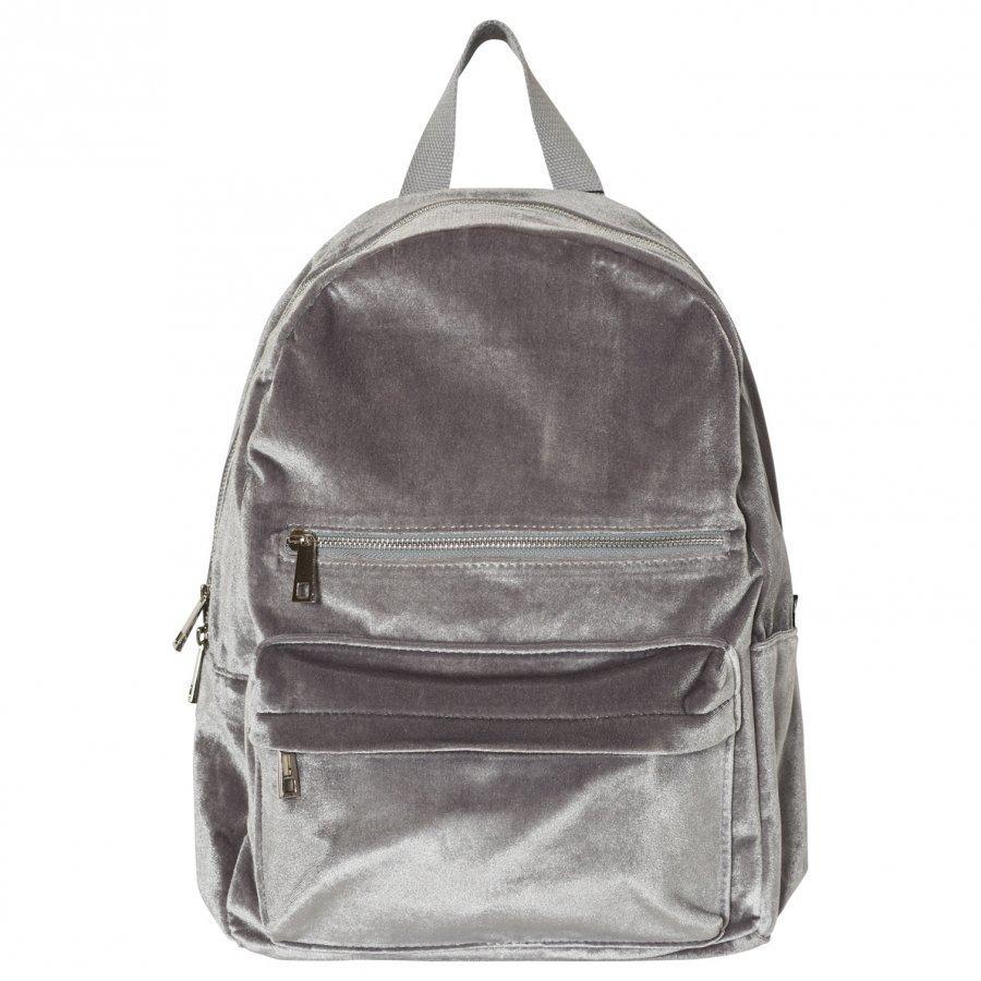 Molo Velvet Backpack Neutral Gray Reppu