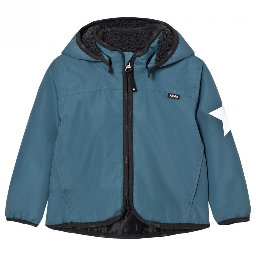 Molo Winner Soft Shell Jacket Bluestone Kuoritakki
