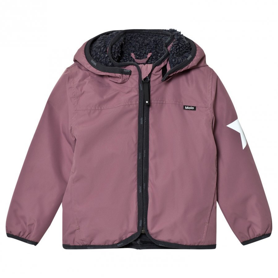 Molo Winner Soft Shell Jacket Purple Mist Kuoritakki
