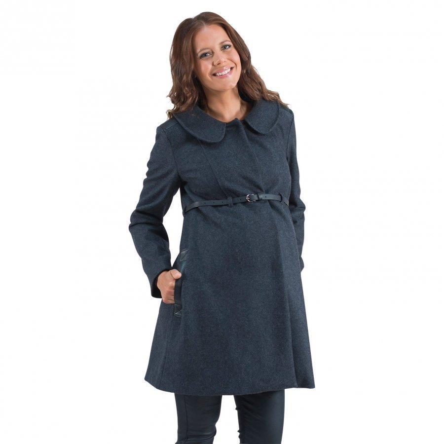 Mom2mom Coat Solid Darkgrey Hupputakki Äidille